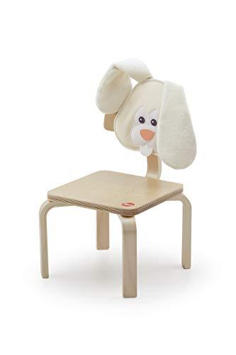 Trudi 88023 - Silla Infantil, Color Blanco y Beige