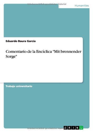 Farm Brennende (Comentario de la Encíclica