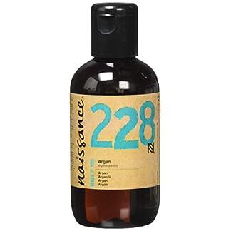 Naissance Aceite Vegetal de Argán de Marruecos n. º 228 – 100ml – Puro, natural, vegano, sin hexano y no OGM – Hidratación natural para el rostro, el cabello, la barba y las cutículas.