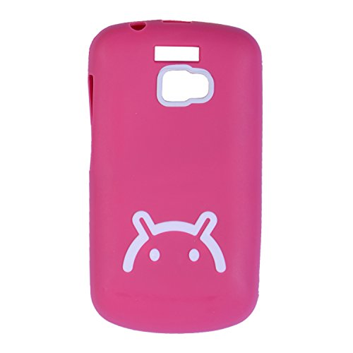 iCandy™ Soft TPU Back Cover For Micromax Bolt A64 - Pink  available at amazon for Rs.160