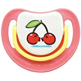 SILICONE PACIFIER STEP 3, CHERRY