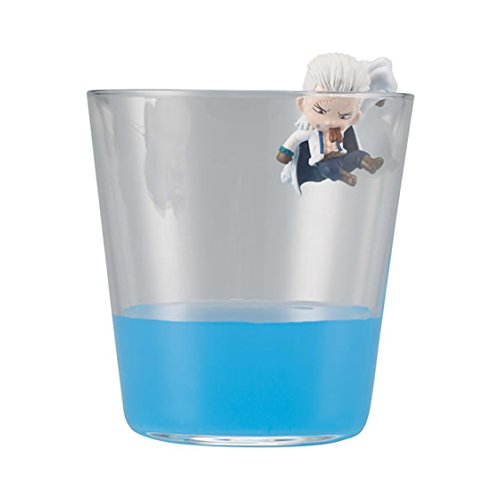 One Piece Water Edge of the Cup Mini Figure Part 4~Smoker - Edge-cup