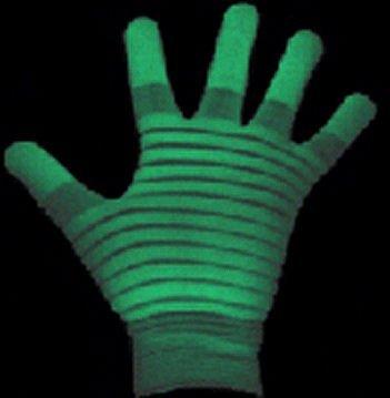 Glow in the Dark Glow Gloves by (Glow In The Dark Handschuhe)