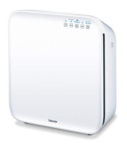 Beurer LR 310 Luftreiniger mit Sensor zur Erkennung von Feinstaubpartikeln, ideal bei Allergien und Heuschnupfen