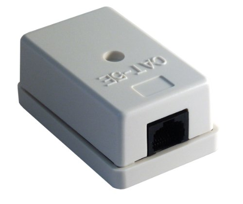 MCL - CAT5E UTP SURFACE MOUNTED BOX CABL 1 SOCKET Surface Mounted Box