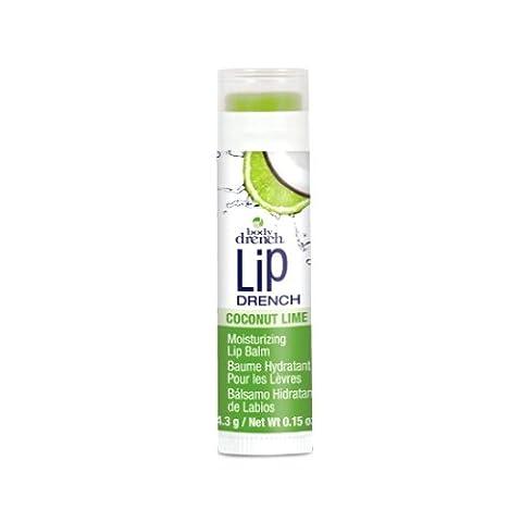 (3 Pack) BODY DRENCH Moisturizing Fruity Lip Balms - Coconut Lime