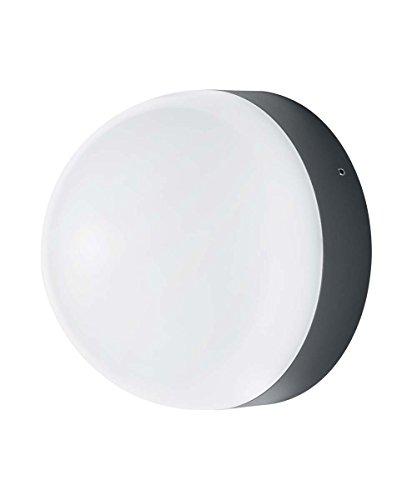 OSRAM - Applique extérieure LED ENDURA STYLE Ball - Diamètre 17cm - Détecteur de Mouvements - 12W Equivalent 74W - Gris Anthracite - Garantie 5 ans