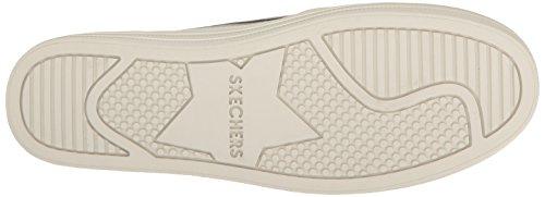 Skechers Damen Double Up-Shiny Dancer Slip On Sneaker Grau (Pewter)