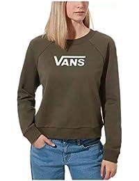Vans Flying V Ft Boxy Crew -Fall 2019-(VN0A47THKCZ1) - Grape Leaf - M