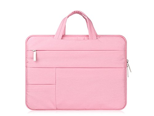 DOOUYTERT 15 Zoll Leinwand Tablet Laptop Tasche Handtasche Innere Tasche für Mann Frauen Tablet-Handtasche
