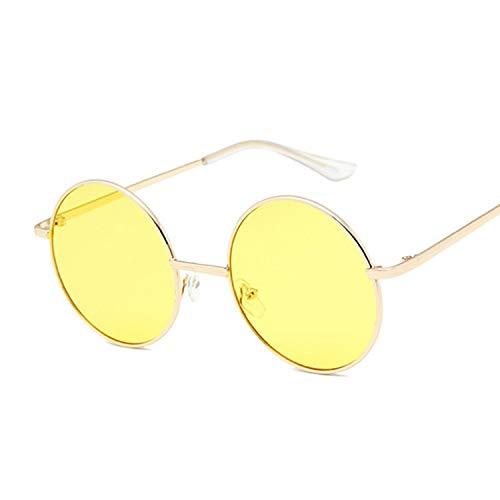 YUHANGH Runde Sonnenbrille Frauen Vintage Metall Sonnenbrille Für Weibliche Gläser Retro Kleinen Kreis Eyewear