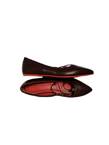 Benetton - Zapatos Mujer Bailarinas Piel Color marrón