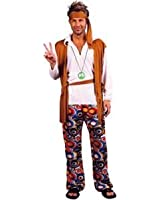 Hippie Man Fancy Dress Costume (Adult Size)