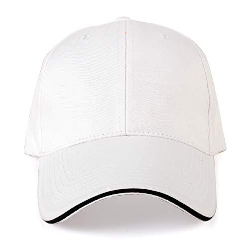 HEXUAN la publicité Hat Promotion publicité Hat, Hommes et Femmes, Boule de Coton pac Parasol Hat Convenable pour la randonnée, l'escalade, pêche, Camping, Voyager en Bleu,White