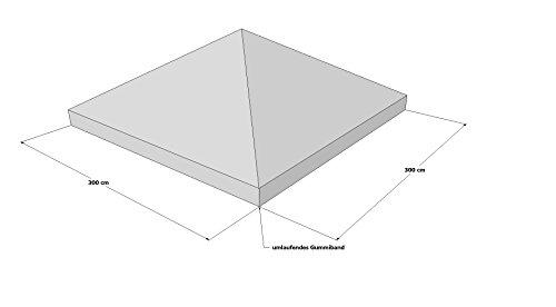 Schutzhaube Abdeckplane Plane Pavillon 3x3 m