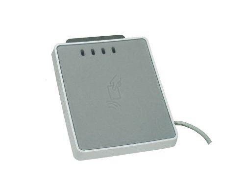 SDI uTrust 4701 F - Dual Interface SmartCard Reader - liest kontaktlose und kontaktbehaftete Chipkarten / HBCI Banking / Sicherheitszutritt / nPA