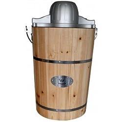 Sorbetière électrique GIVRETO en bois 5.5 L