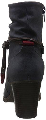 Jane Klain - Stiefelette, Stivali a metà gamba con imbottitura pesante Donna Blu (Blau (820 Dk.Denim))