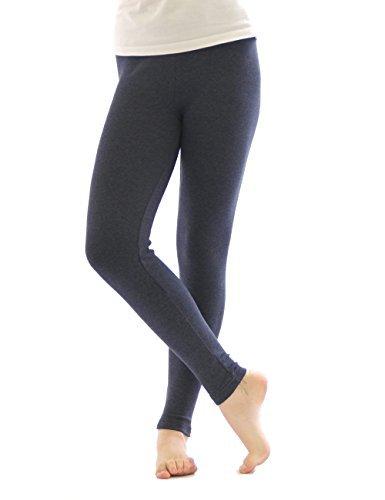 Thermo Leggings leggins Hose lang aus Baumwolle Fleece warm dick weich jeans XXXL