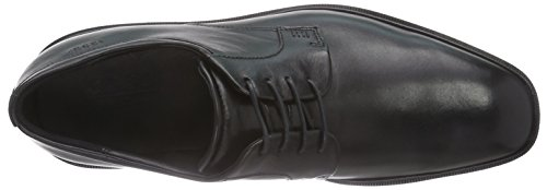 Ecco Illinois, Derby Homme Noir (1001Black)