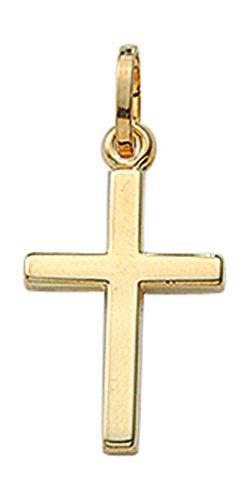 Kreuz Anhänger / Kettenanhänger aus 585 Gold 14 Karat
