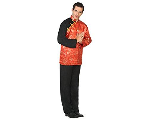 Chinese Kostüm - ATOSA 17406 - Chinese, Herrenkostüm, Größe M-L, 50/52