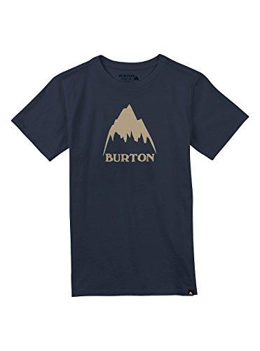 Burton Jungen Classic Mountain High Short Sleeve T-Shirt, Indigo, XL (Burton Shirt Blau)