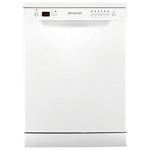 Brandt DFH12227W Autonome 12places A++ lave-vaisselle - Lave-vaisselles (Autonome, Blanc, Taille maximum (60 cm), Blanc, boutons, 1,35 m)