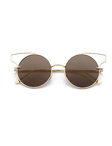 Neue persönliche Sonnenbrille Frauen Sonnenbrille Frauen Runde Gesicht Brille ( Farbe : 2 )