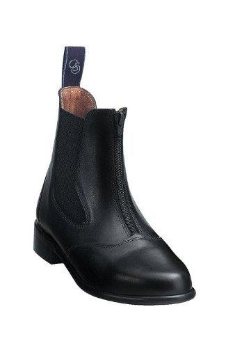 """Boots C.S.O. """"Aix Zip"""" noir"""
