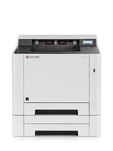 Kyocera Ecosys P5021cdw Farblaserdrucker, 21 Seiten pro Minute, mit Mobile-Print-Unterstützung für Smartphone und Tablet