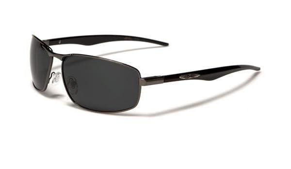 Herren polarisierte Xloop Sonnenbrille Zinn Schwarz Objektiv mWfK0Rfv