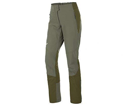 Salewa, agner orval dst w pnt, pantalone da alpinismo, donna, verde (oil green/5750), 48/42