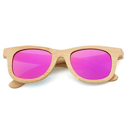 PZXY Holz Sonnenbrillen Kinder Umweltschutz Bambus Brille polarisierte UV-Schutzbrille