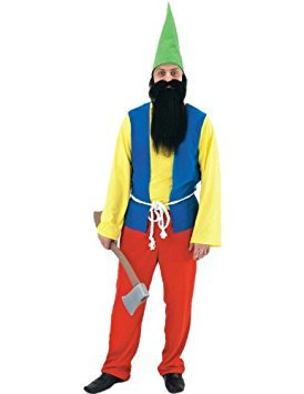 Happy Gnome Costume - Adult Male One Size