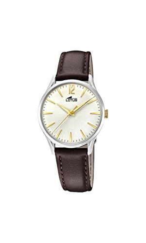 Lotus Watches Womens Analogue Classic Quartz Watch with Leather Strap 18406/1