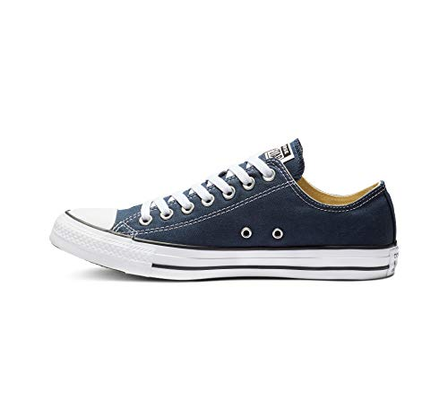 Converse AS OX CAN NVY Scarpa da tennis a collo basso, Unisex – Adulto, Blu (Navy & White), 38,5