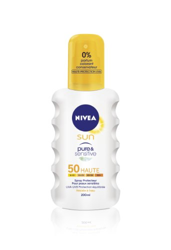 Nivea Sun Pure & Sensitive 50 Hoch