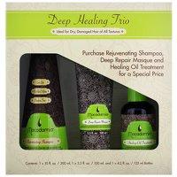 Set Regalo da Macadamia classico Rejuvenating Shampoo 300ml, Profondo Riparazione Maschera 100ml e guarigione Trattamento Olio 125ml