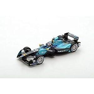 SPARK-Coche en Miniatura de colección, s5918, Negro/Turquesa