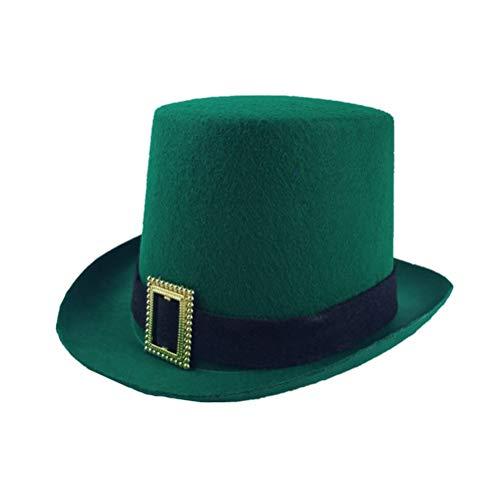 BESTOYARD St. Patrick's Day Hut Irland St Patrick ausgefallene Stirnband Irish Decor Hut St Patrick Partydekorationen für Festival Carnival Party - Irische Kostüm Männer