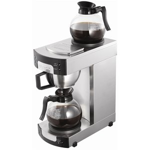 Heavy Duty Filter Coffee Machine 2.2kW 1.7Ltr Capacity Stainless Steel - Commercial Kitchen Restaurant Cafe Bistro Pub Bar Jug Filter Coffee Machine from Burco
