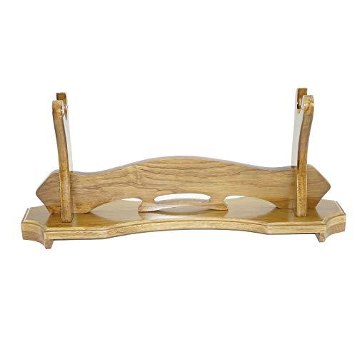 Kuuopla, espositore per spade, in legno massello, per lucidare e lucidare