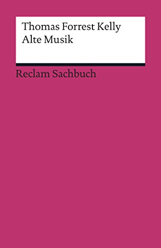 Alte Musik: Reclam Sachbuch