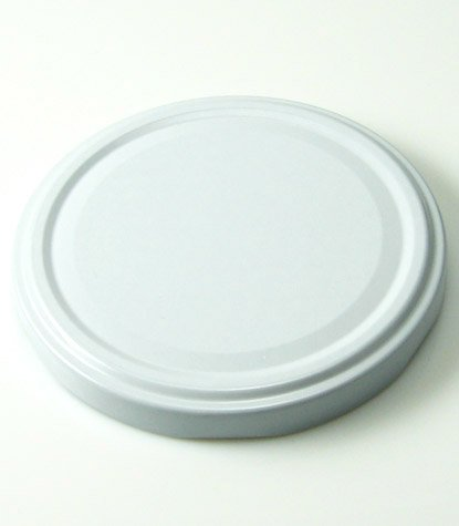 Cap+Cro - 160 x Preserving Glass Jars - 350 ml (11.8 oz) - lid colour: white