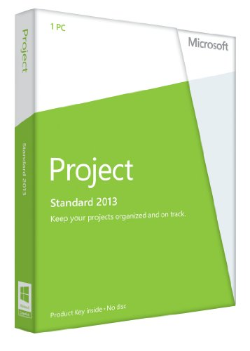 Microsoft Project 2013, Licence Card, 1 User (PC) Test