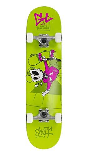 Enuff Skateboards Skully Complete Skateboard Unisex Adulto, Unisex Adulto, ENU2100, Verde (Green), 7.75'