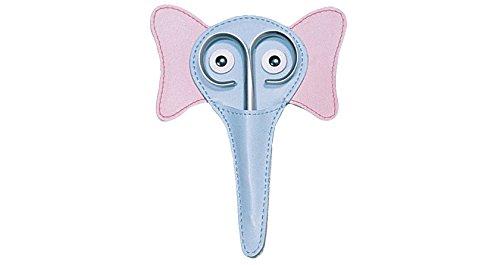 Redecker Rubis Elefanten-Etui mit Baby Nagel-Schere Maniküre/Pediküre