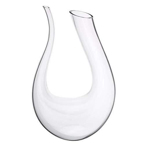 1.5L Wine Champange Glass Decanter U-Shaped Bottle Jug Pourer Aerator Lead Free Crystal Glass Lead-free Crystal Decanter