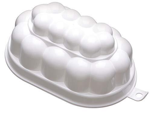 KitchenCraft Traditional Plastic Jelly Mould, 0.5 L (17.5 fl oz)